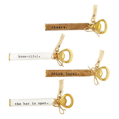 Bottle Openers by Mud Pie - 4 Options Available