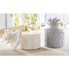 Pineapple Ceramic Candles by Mud Pie