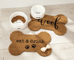 Dog Bowl Placemat by Mud Pie