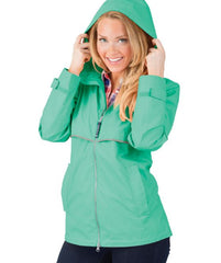 New Englander Rain Jacket by Charles River Apparel - Mint