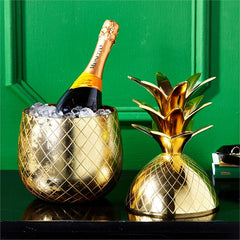Oversized Pineapple Champagne Ice Bucket