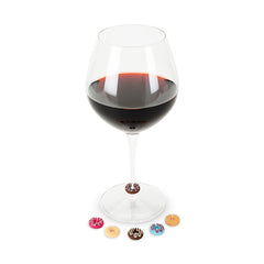 Donut Wine Glass Charms