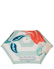 Mermaid Parade Travel Umbrella by Spartina