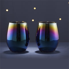 Spectrum Stemless Wine Glasses Keep Cold Set at Prep Obsessed