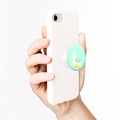 Unicorn Llama Pop Socket Phone Grip