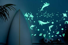 'Sea Animals' Glow In The Dark Stickers