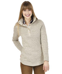 Fleece Pullover in Oatmeal