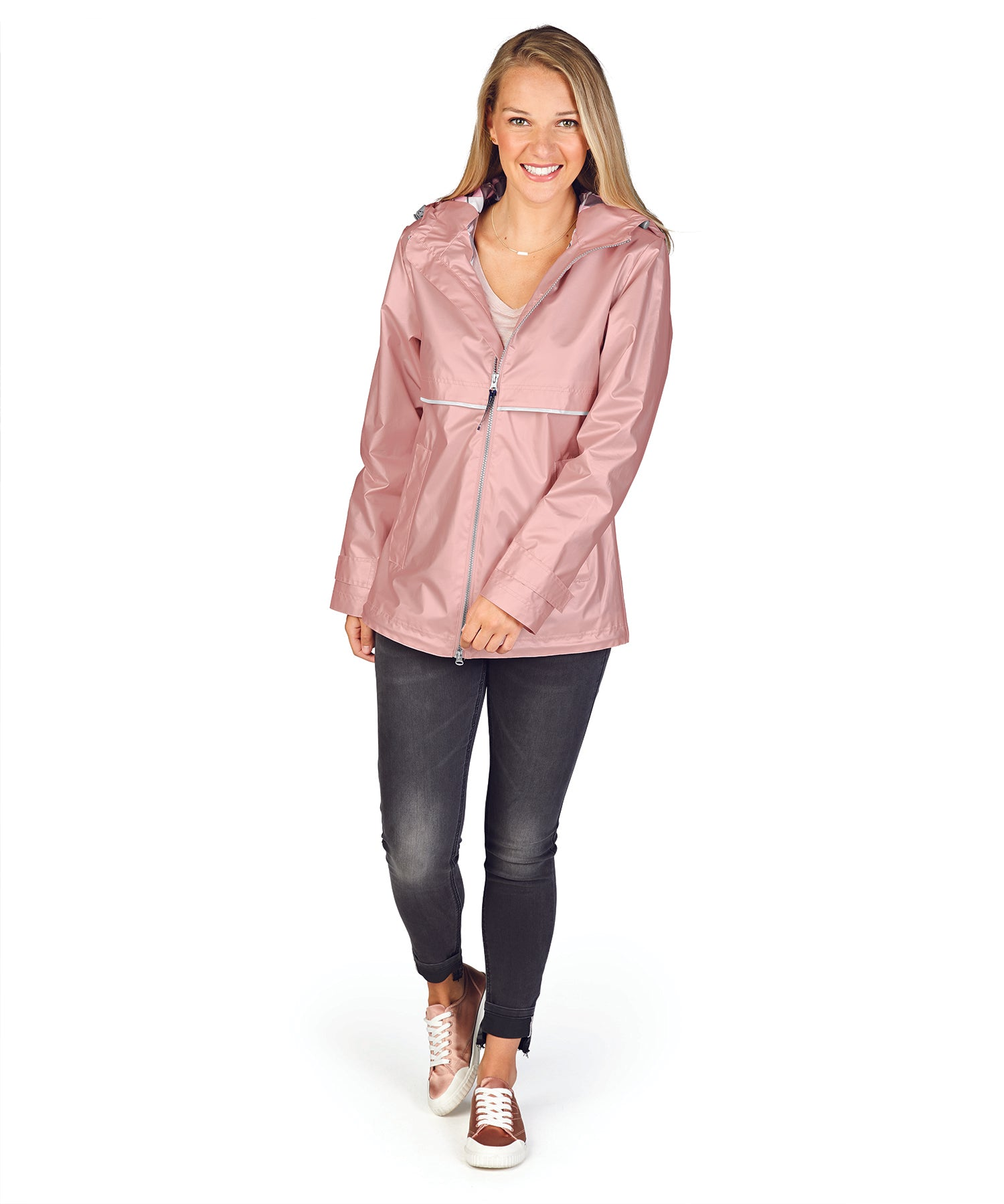 36e23ed8e New Englander Rain Jacket in Rose Gold by Charles River Apparel (Ships in  1-2 Weeks)