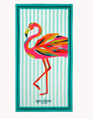 Spartina Flamingo Beach Towel Moreland