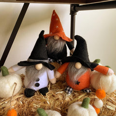 Halloween Gnome Sitter by Mud Pie - Choice of Color