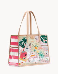 Florida Clear Beach Tote by Spartina