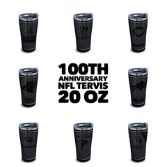 NFL 100th Anniversary Stainless 20 oz Tumbler by Tervis - All Teams Available (3-4 Week Production Time)