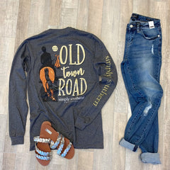 'Old Town Road' Long Sleeve Tee by Simply Southern