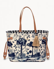 Ashley River Landscape Jetsetter Tote by Spartina