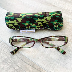 Camo Reading Glasses by Simply Southern
