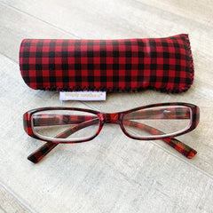 Buffalo Check Reading Glasses by Simply Southern