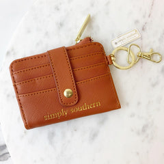 Tan Key ID Wallet by Simply Southern