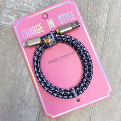 Printed USB Charging Cords by Simply Southern - Choice of Style