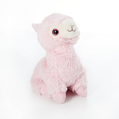 'Pink Llama' Cozy Plush Junior by Warmies
