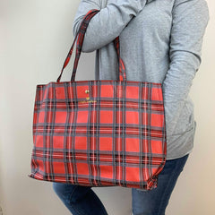 Plaid Tote by Simply Southern
