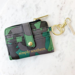 Camo Key ID Wallet by Simply Southern