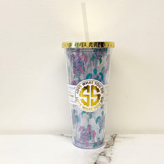 'Sea Turtles' Double Wall Tumbler by Simply Southern