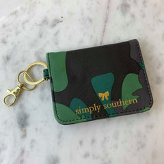 Camo Butterfly Wallet by Simply Southern