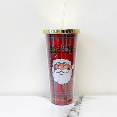 'Ho Ho Ho' Santa Holiday Double Wall Tumbler by Simply Southern