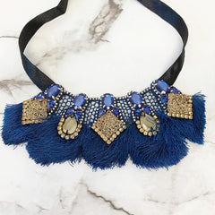 Eloise Midnight Statement Necklace