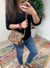 Leopard Satchel by Simply Southern