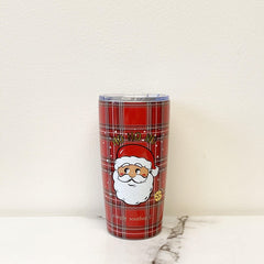 'Ho Ho Ho' Santa Holiday Stainless Steel Tumbler by Simply Southern - 20 oz
