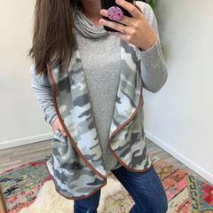 Camouflage Vest by Simply Southern