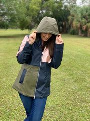New Englander Rain Jacket by Charles River Apparel - Colorblock