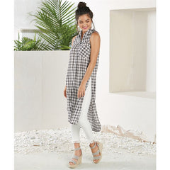 Finley Button-down Duster by Mud Pie