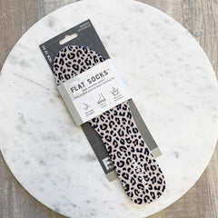 Flat Socks by Foot Petals - Leopard