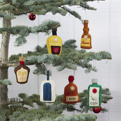 Bottled Spirits Alcohol Bottle Ornaments Gifts at Prep Obsessed