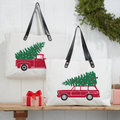 'Light up the Holidays' Tote Bag - Choice of Style