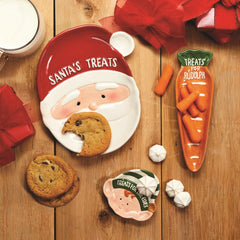Holiday Tidbit Plates Set of 3