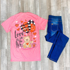 'Love Is In the Air' Short Sleeve Tee by Simply Southern