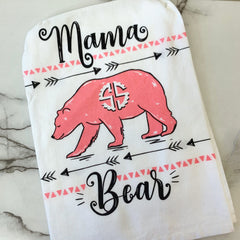'Mama Bear' Dish Towel by Simply Southern