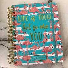 'Life is Tough But So Are You' Printed Planner by Simply Southern