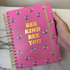 'Bee Kind Bee You' Printed Planner by Simply Southern