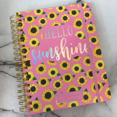 'Hello Sunshine' Printed Planner by Simply Southern