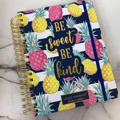 'Be Sweet Be Kind' Printed Planner by Simply Southern