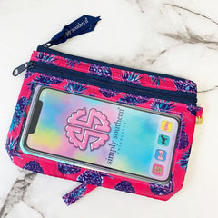 'Pink Pineapples' Printed Phone Wristlet by Simply Southern