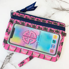 'Palm Trees' Printed Phone Wristlet by Simply Southern