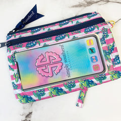 'Sea Turtles' Printed Phone Wristlet by Simply Southern