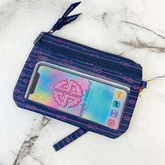 'Nautical Rope' Printed Phone Wristlet by Simply Southern