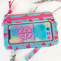 'Watermelon' Printed Phone Wristlet by Simply Southern