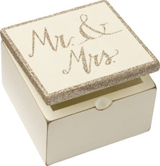 Mr & Mrs Trinket Box by Primitives by Kathy